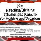 Tired of losing the vacation regression battle each year?      This set of 4 challenges can be used school wide or in individual classrooms.  Each ch...