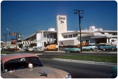 BEFORE The Hi-Rises came......Mid-Century Motels, Sunny Isles Beach, Florida