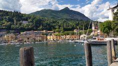 Romantischer Hafen von Maderno New York Skyline, Travel, Summer 2016, Viajes, Trips, Tourism, Traveling