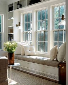 Built-in window bench