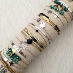 ZAG Bijoux Cute Jewelry, Diy Jewelry, Beaded Jewelry, Jewelry Accessories, Handmade Jewelry, Fashion Jewelry, Women Jewelry, Jewelry Design, Jewelry Making