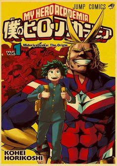 My Hero Academia Retro Posters - 42X30cm / T003 4 / China
