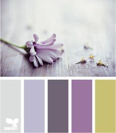 Colors- petal tones