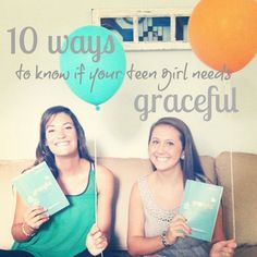 10 Ways to Know if Your Teen Girl Should Read Graceful (plus free resources for small groups!) on http://www.incourage.me