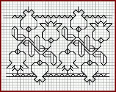 Brain Clutter: Blackwork pattern: Misc blackwork examples #3
