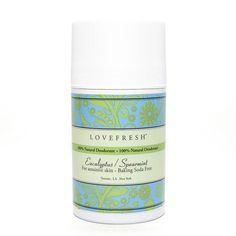 Sensative Skin Natural Deodorant Stick - Natural Deodorant that works in Eucalyptus & Mint from Jackson | Brooke!
