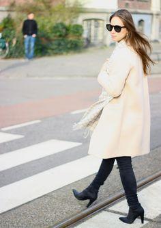 Marlieke van fashionblog cottonandcream.nl draagt deze onze Invito booties!