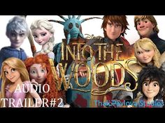 Into The Woods- Disney/Dreamworks CGI Trailer 2 - YouTube