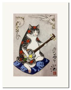 Horitomo Tattooed Cats - Google Search