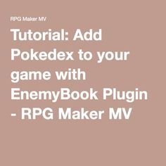29 Best RPG Maker images in 2019 | Rpg maker, Rpg, Rpg maker vx