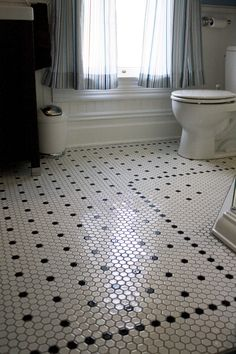 hex floor tile bathroom - Google Search