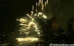 Sydney Harbour Bridge Fireworks New Year 2017