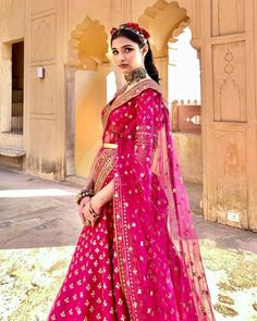 Sneak Peek Into JJ Valaya's Summer Wedding Collection 2021 Late Summer Weddings, Summer Wedding Outfits, Indian Attire, Indian Wear, Pastel Outfit, Half Saree, Bridal Lehenga, Vintage Beauty, Fasion