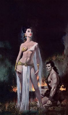 """Robert McGinnis - Delilah. Dəlilah, meaning """"[She who] weakened"""" is a character in the Hebrew bible Book of Judges, where she is the """"woman in the valley of Sorek"""" whom Samson loved, and who was his downfall. Her figure, one of several dangerous temptresses in the Hebrew Bible, has become emblematic: """"Samson loved Delilah, she betrayed him, and, what is worse, she did it for money."""" (Wiki)"""