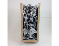 "Check out new work on my @Behance portfolio: ""Silver toy sculpture"" http://be.net/gallery/57049021/Silver-toy-sculpture"