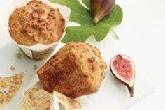 Healthy Yogurt Muffins (Dried Figs, Walnuts, Flax, Honey) | Fitness Republic