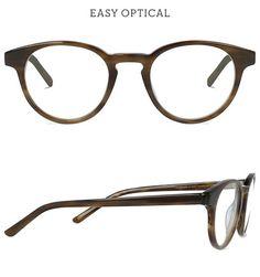 Battatura Carmine Dark Gentlemens Brown from Easy Optical Eyewear, Glasses, Brown, Easy, Eyeglasses, Eyeglasses, Brown Colors, Sunglasses, Eye Glasses