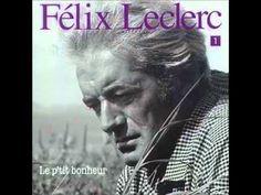 Félix Leclerc  -  Le p'tit bonheur  Legend #Quebec #Québec