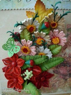 Beautiful quilling by Russian quiller