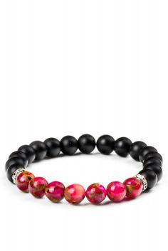 Metal Motifli Mat Oniks ve Aventurin Doğal Taşlı Bileklik Moda Mislina'da.. #women #fashion #bracelets #dogaltasbileklik #kadinmodasi #yenimodeller #products #moda #trend #bestof2015 #modamislina www.modamislina.com