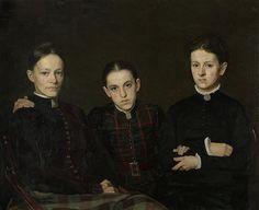 Jan Veth. Portraits von niederländischem Künstler. Kunstblog von Tania Rivilis
