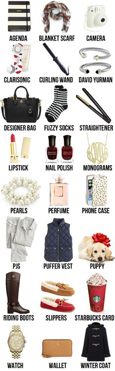 Stumped on what to ask for this Christmas? This list has everything…