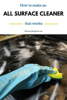 How to make an all surface cleaner that works- MommySnippets.com #Sponsored #SpringClean16 (1)