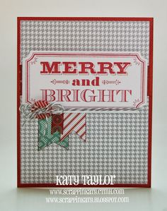 5-1/2 x 7 card made using Sparkle & Shine Paper Packet WOTG Kit that includes this SUPER CUTE stamp set...