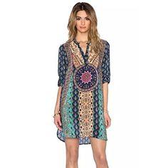 Donne Dress Bohemian, FEITONG cravatta vintage Vestito a trapezio stile etnico Stampato, http://www.amazon.it/dp/B01HDFQZ8K/ref=cm_sw_r_pi_s_awdl_SjJIxbWE3BQ5S