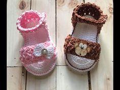 YouTube Crochet Baby Boots, Crochet Baby Sandals, Crochet Bebe, Unique Crochet, Crochet Baby Clothes, Crochet Shoes, Crochet Slippers, Crochet Gifts, Diy Crochet
