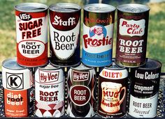 Root Beer Cans