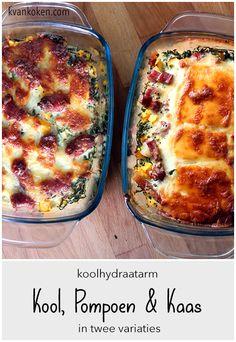 Boerenkool met pompoen ovenschotel in twee variaties – De K van Koken Quiche, Breakfast, Food, Morning Coffee, Essen, Quiches, Meals, Yemek, Eten