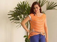 Blusa Fernanda com Vitória Quintal