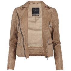Hardy Leather Jacket, found on polyvore.com