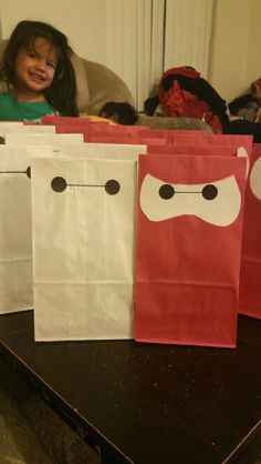 Big hero 6 goodie bags
