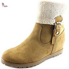 Tommy Hilfiger Soffia 2 Femmes US 10 Beige Botte - Chaussures tommy hilfiger (*Partner-Link)