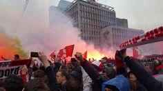 Feyenoord #pyro #coolsingel #cupfighters
