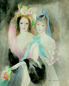 Marie laurencin (1883-1956) / LAURENCIN Marie (1883-1956) - Two young girls