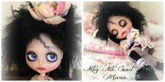 RESERVED on layaway....Custom OOAK Blythe doll. by SongOfBlythe