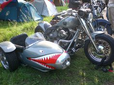 Love it! Harley Davidson side car by pantherinia_hd Anna A., via Flickr
