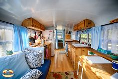 Amazing Build - Renovated School Bus into an RV