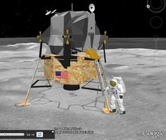 While hundreds millions of people have used Google Earth over the years, many aren't aware of some of the great things it can do.  One of those is the ability to explore our moon, which is an excellent feature to have.  Google first introduced this feature back in 2009, and it's still amazing to see. Over The Years, Moon, Earth, Explore, Geography, Google, Science, Amazing, The Moon
