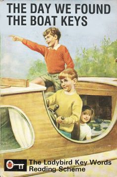 """""""The Day We Found The Boat Keys"""" Classic Forgotten Ladybird Books"""