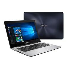 ASUS X456UA-WX015T i5 6200U 8GB DDR3L 1TB HDD HD 520 DVD 14'' Windows 10 Blue