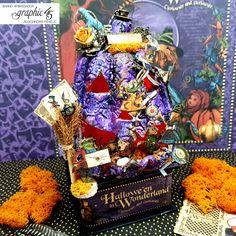 #G45DarkSide - Halloween Home Decor Halloween Home Decor, Halloween House, Halloween Treats, Halloween Diy, Altered Boxes, Altered Art, Alice In Wonderland Crafts, T Art, Shaker Cards