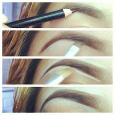 Brows should have gradient: lighter in the center to darker at the tip.  Who knew?