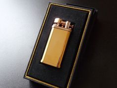Dunhill Bi-Coloured (Yellow/Rose Gold) Unique Lighter-Boxed-Mint