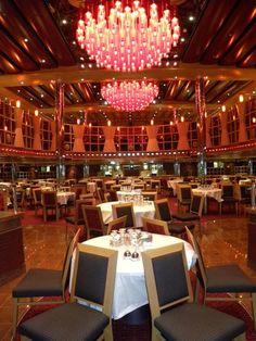 Carnival Dream Crimson Restaurant