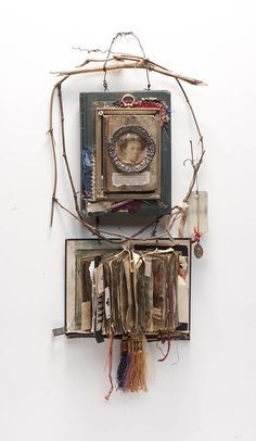 Glimmering Prize: Mixed Media Collage and Assemblage by Lorraine Reynolds: September 2012