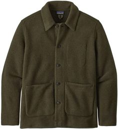 The classic style Patagonia Men's Woolie Chore Coat utilizes a recycled wool fabric blend for easy layering during transitional months. Mens Dressing Styles Casual, Grunge Photography, Urban Photography, White Photography, Newborn Photography, Photography Poses, Blazer Outfits Men, Picnic Outfits, Mens Outdoor Clothing